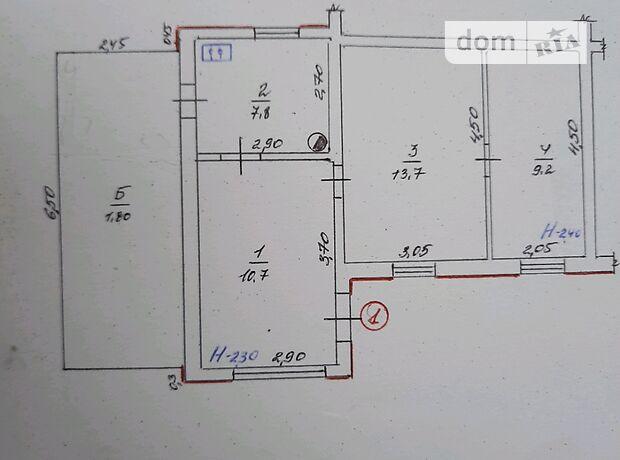 Продаж трикімнатної квартири в Іллінцях на МКривоноса 20, кв. 1, район Іллінці фото 1