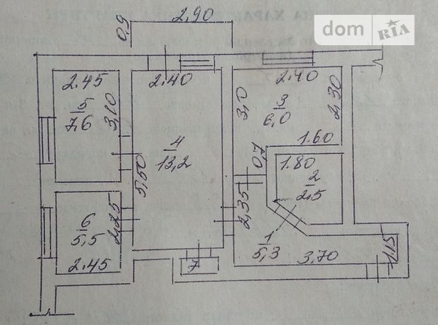 Продаж трикімнатної квартири в Іллінцях на Незалежності район Іллінці фото 1