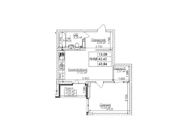 Продажа однокомнатной квартиры в Ирпене, на ул. Богдана Хмельницкого район Гостомель фото 1