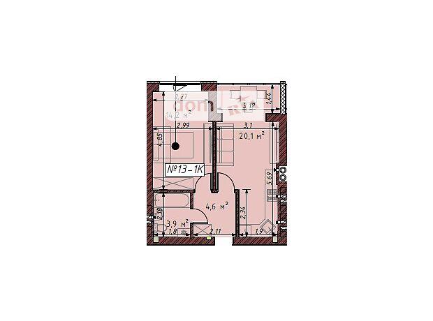 Продаж однокімнатної квартири в Ірпені на вул. Молодіжна район Гостомель фото 1