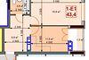 Продажа однокомнатной квартиры в Ирпене, на ул. Карла Маркса 1т/2, район Ирпень фото 2