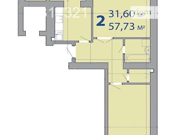 Продажа квартиры, 2 ком., Ивано-Франковск, р‑н.Бам, Чорновила улица, дом 155