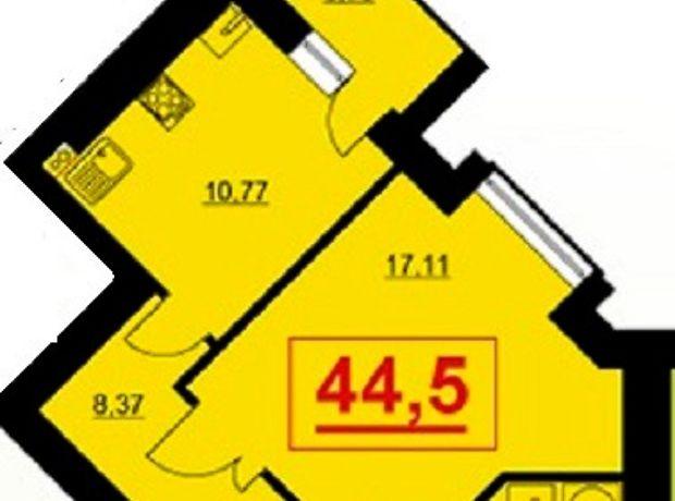 Продажа квартиры, 1 ком., Ивано-Франковск, р‑н.Бам, довженка