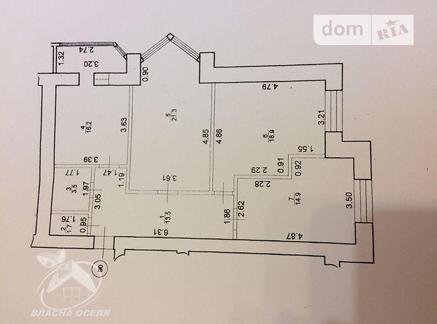 Продажа квартиры, 3 ком., Ивано-Франковск, Богдана Хмельницького, дом 53