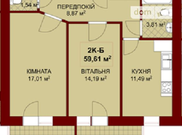 Продажа квартиры, 2 ком., Ивано-Франковск, р‑н.Каскад, Біля Вовчинецької