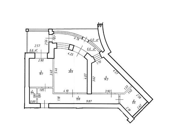 Продажа двухкомнатной квартиры в Ивано-Франковске, на ул. Декабристов 58,, кв. 3, район Никитинцы фото 1