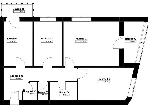 Продажа трехкомнатной квартиры в Ивано-Франковске, на ул. Бойчука район Пасечная фото 1