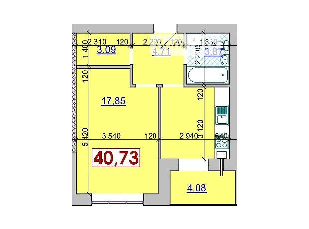 Продаж однокімнатної квартири в Івано-Франківську район Пасічна фото 1