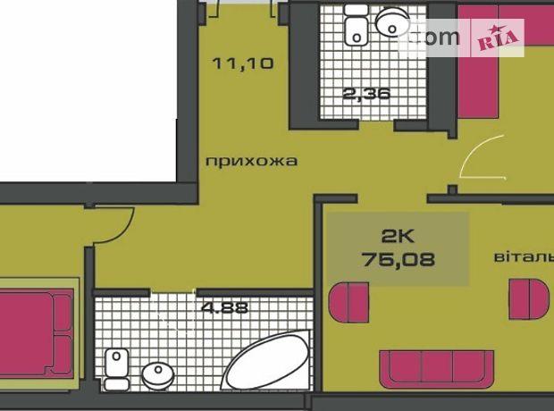 Продажа двухкомнатной квартиры в Ивано-Франковске, на ул. Независимости (Горького) район Центр фото 1