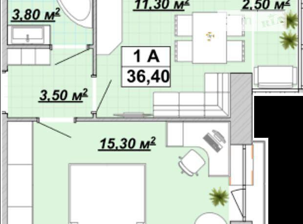 Продажа однокомнатной квартиры в Ивано-Франковске, на Княгинин 44 район Центр фото 1