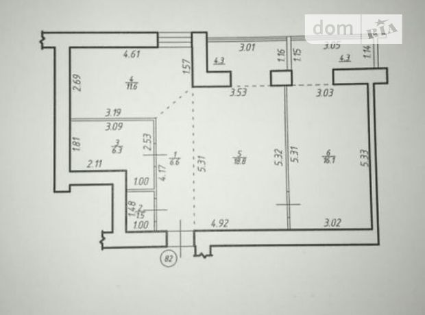 Продажа квартиры, 2 ком., Ивано-Франковск, р‑н.Центр, мельника