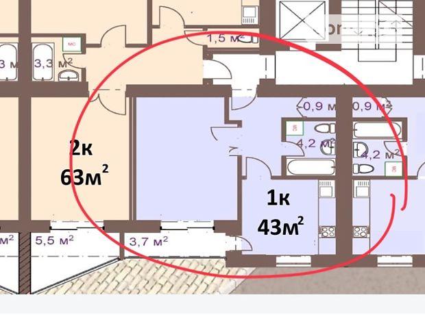 Продажа квартиры, 1 ком., Ивано-Франковск, р‑н.Волчинец, Яблунева