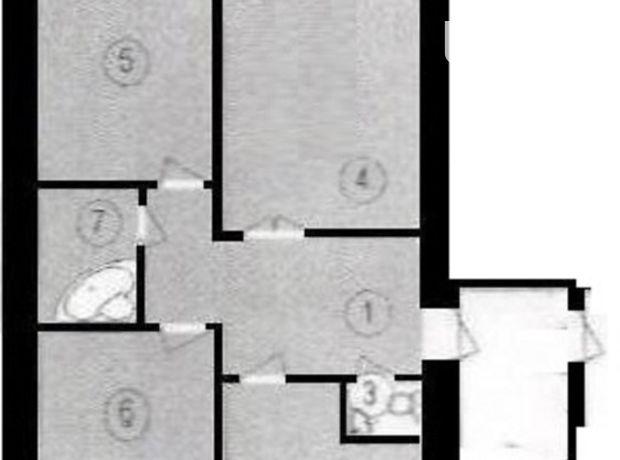 Продажа квартиры, 3 ком., Ивано-Франковск, р‑н.Пасечная, Горбачевского улица