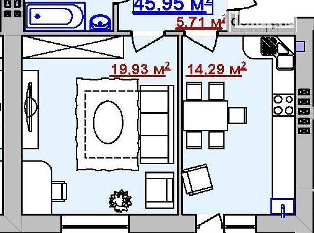 Продажа квартиры, 1 ком., Ивано-Франковск, р‑н.Пасечная, Циолковского улица