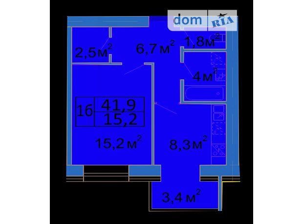 Продаж квартири, 1 кім., Ивано-Франковск, р‑н.Центр, Арсен