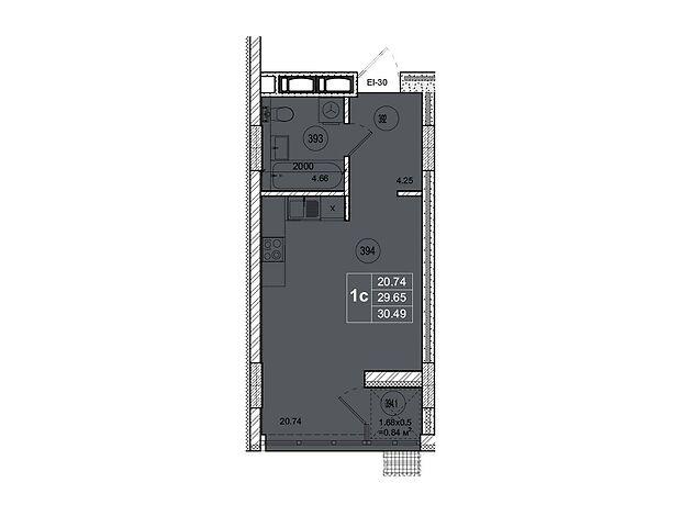 Продажа однокомнатной квартиры в Житомире, на ул. Котовского район Богунский фото 1