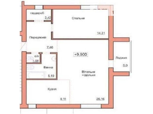 Продажа двухкомнатной квартиры в Житомире, на ул. Чудновская район Корбутовка фото 1