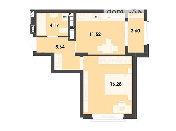 Продажа однокомнатной квартиры в Житомире, на пр. Шпаковский район Корбутовка фото 1