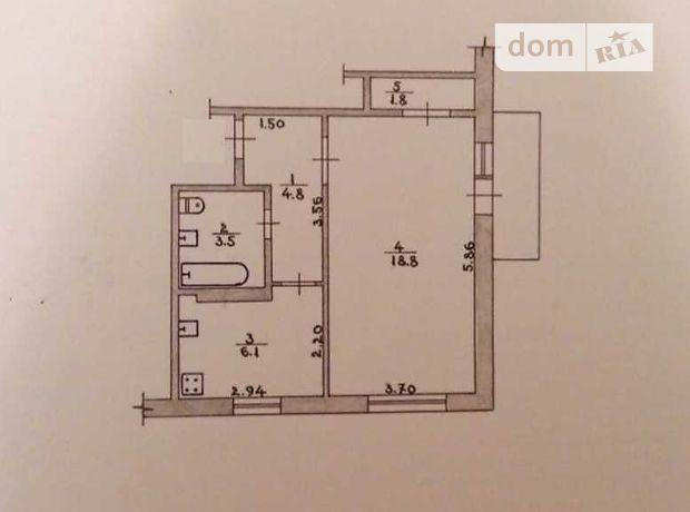 Продажа однокомнатной квартиры в Житомире, на ул. Покровская район Крошня фото 1