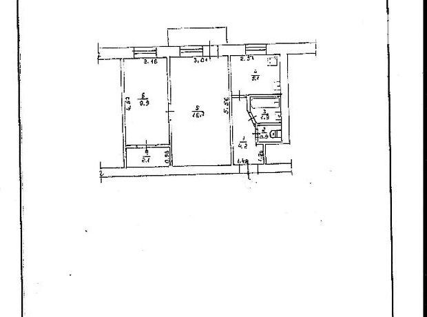 Продаж двокімнатної квартири в Житомирі на вул. Львівська район Центр фото 1