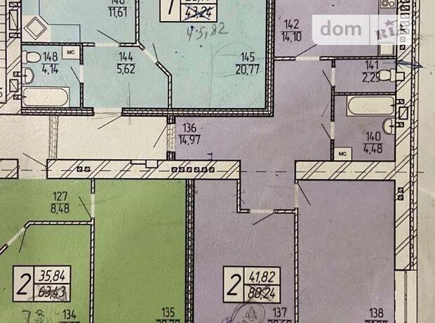 Продажа двухкомнатной квартиры в Житомире, на ул. Театральная 21, район Центр фото 2