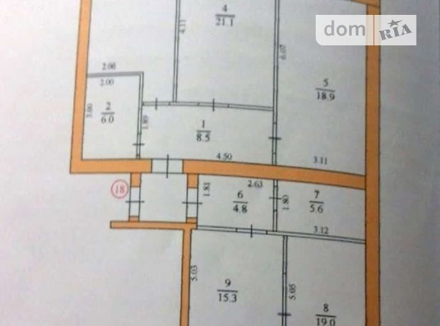 Продажа четырехкомнатной квартиры в Житомире, район Центр фото 1