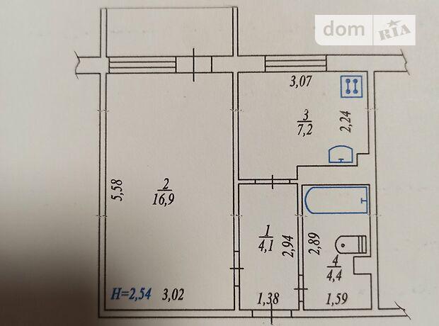 Продажа однокомнатной квартиры в Казатине, на Січових Стрільців район Казатин фото 2