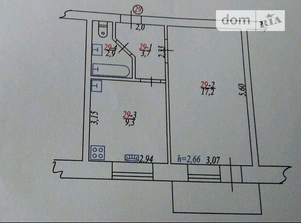 Продажа однокомнатной квартиры в Казатине, на Васьковського 8а район Казатин фото 2