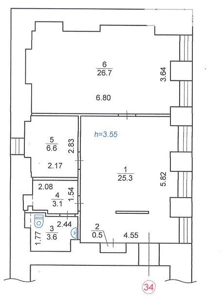 Продажа двухкомнатной квартиры в Киеве, на ул. Большая Васильковская 25 район Печерск фото 1