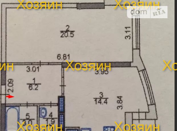 Продажа однокомнатной квартиры в Киеве, на ул. Анны Ахматовой 22, район Дарницкий фото 1