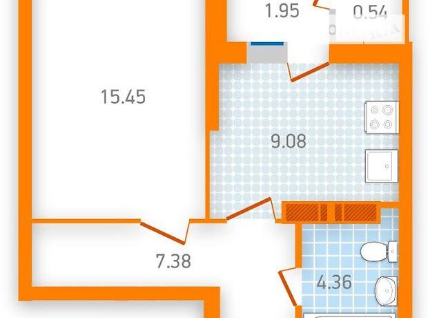 Продажа квартиры, 1 ком., Киев, р‑н.Дарницкий, ст.м.Бориспольская, Бориспольская улица, дом 30А