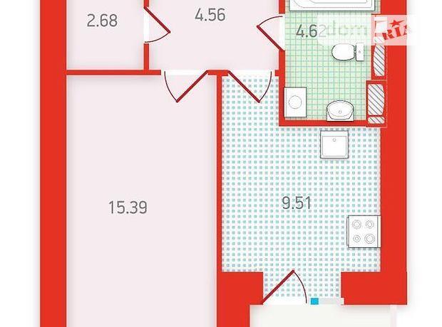 Продажа однокомнатной квартиры в Киеве на ул. Бориспольская 18, район Дарницкий, фото 1
