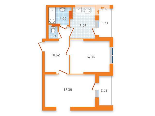 Продаж квартири, 2 кім., Киев, р‑н.Дарницький, ул. Бориспольская, 40