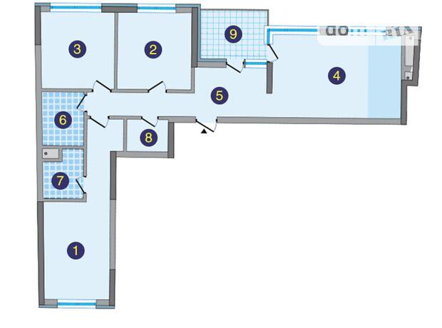 Продажа трехкомнатной квартиры в Киеве, на ул. Заречная 1а, район Дарницкий фото 1