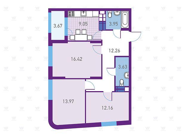 Продажа трехкомнатной квартиры в Киеве, на ул. Магнитогорская район Деснянский фото 1