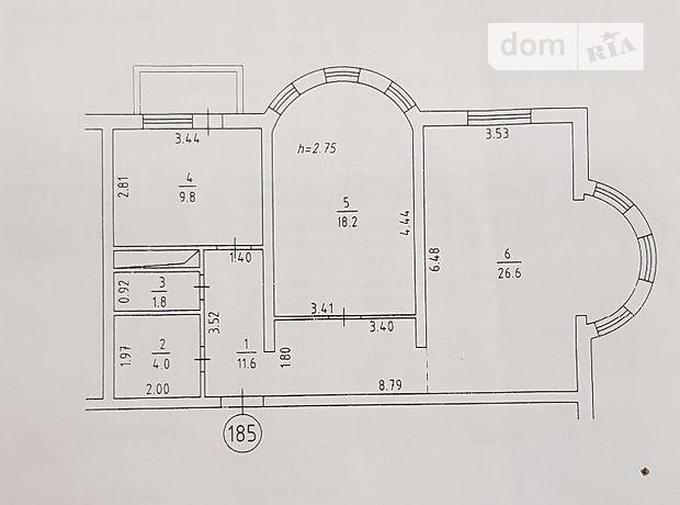 Продажа квартиры, 2 ком., Киев, р‑н.Днепровский, Харьковское шоссе, дом 19 а
