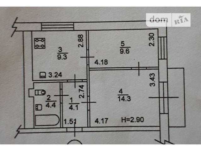 Продажа квартиры, 2 ком., Киев, р‑н.Днепровский, ст.м.Дарница, Строителей