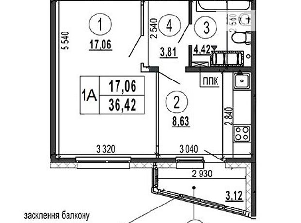 Продажа квартиры, 1 ком., Киев, р‑н.Голосеевский, ст.м.Выставочный центр, Академика Глушкова проспект, дом 6