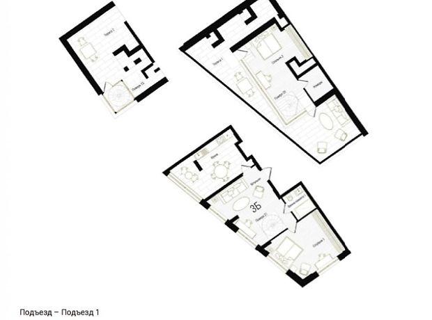 Продажа трехкомнатной квартиры в Киеве, на ул. Антоновича 74-78, район Голосеевский фото 1