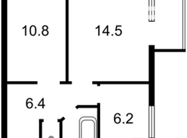 Продажа квартиры, 2 ком., Киев, р‑н.Голосеевский, ст.м.Демиевская, Демиевский переулок, дом 6