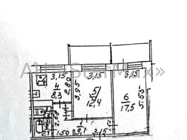 Продаж квартири, 2 кім., Киев, р‑н.Голосіївський, Глушкова Академика пр-т, 35