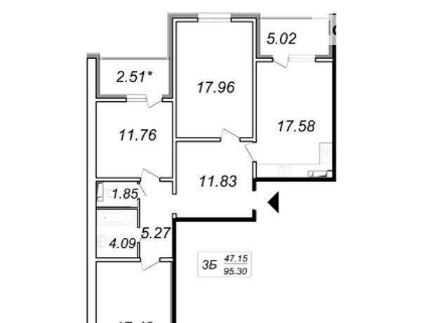 Продажа квартиры, 3 ком., Киев, р‑н.Голосеевский, ст.м.Демиевская, Ясиноватский переулок, дом 11