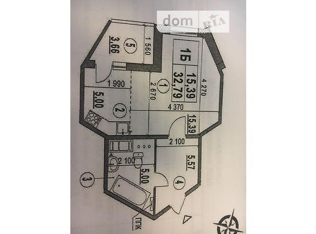 Продаж квартири, 1 кім., Київ, р‑н.Голосіївський, ст.м.Іподром