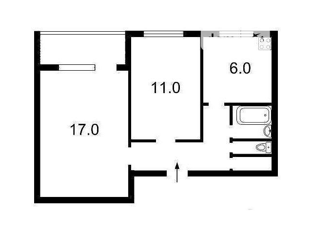 Продажа квартиры, 2 ком., Киев, р‑н.Оболонский, ст.м.Оболонь, ул. Малиновского Маршала