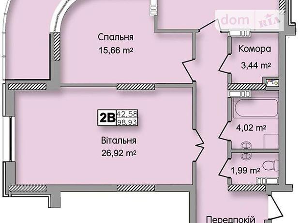 Продажа квартиры, 2 ком., Киев, р‑н.Оболонский, ст.м.Минская, Юрия Кондратюка улица, дом 7