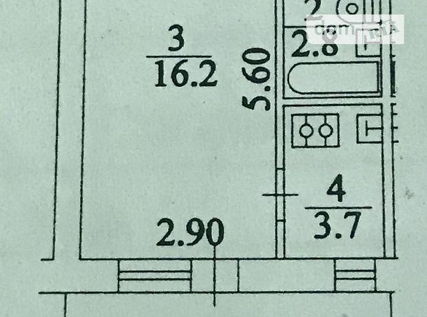 Продажа квартиры, 1 ком., Киев, р‑н.Печерский, ст.м.Выдубичи, Николая Соловцова , дом 6