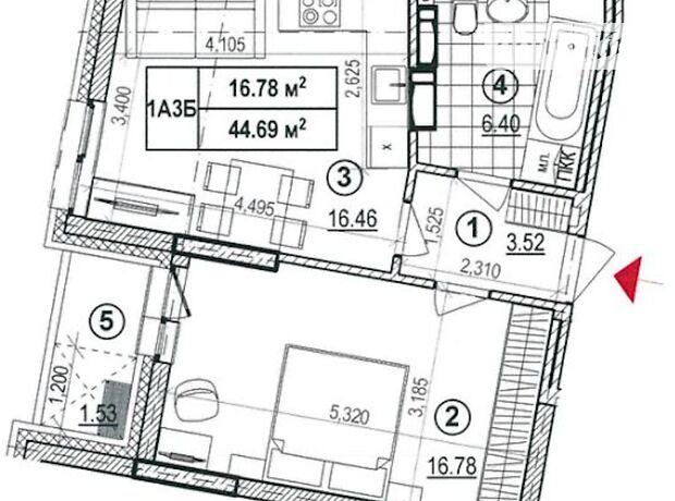 Продажа однокомнатной квартиры в Киеве, на ул. Глубочицкая 43,, кв. 137, район Шевченковский фото 1