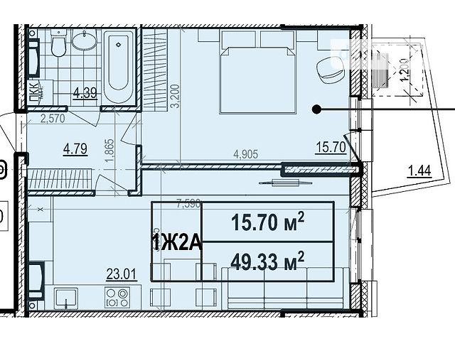 Продаж квартири, 1 кім., Киев, р‑н.Шевченківський, ул. Глубочицкая, 43