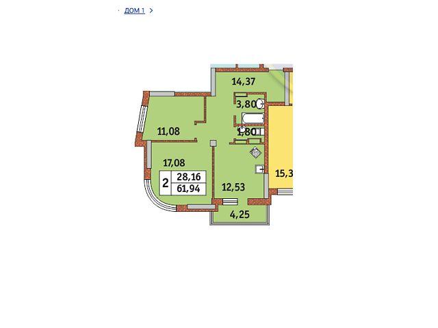 Продаж квартири, 2 кім., Киев, р‑н.Соломенський, ул. Петра Радченко, 27