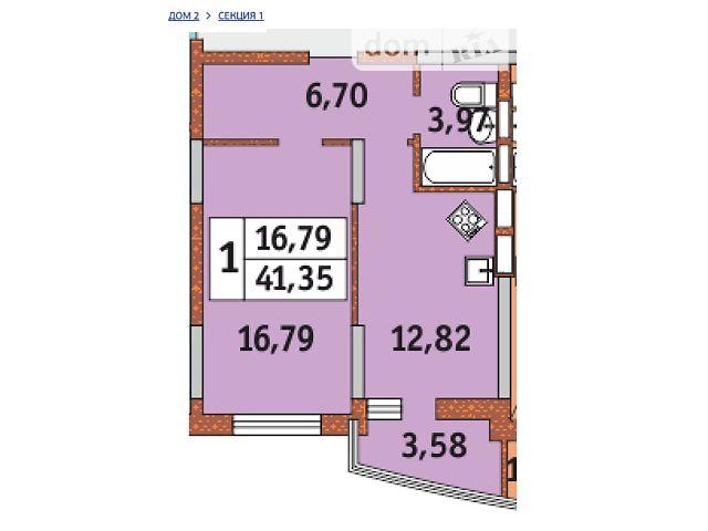 Продаж квартири, 1 кім., Киев, р‑н.Соломенський, ул. Петра Радченко, 27